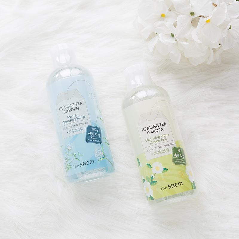 彩妆脸部温和清洁 茶树 绿茶 300ml 得鲜舒缓卸妆水 慧敏欧尼 预售