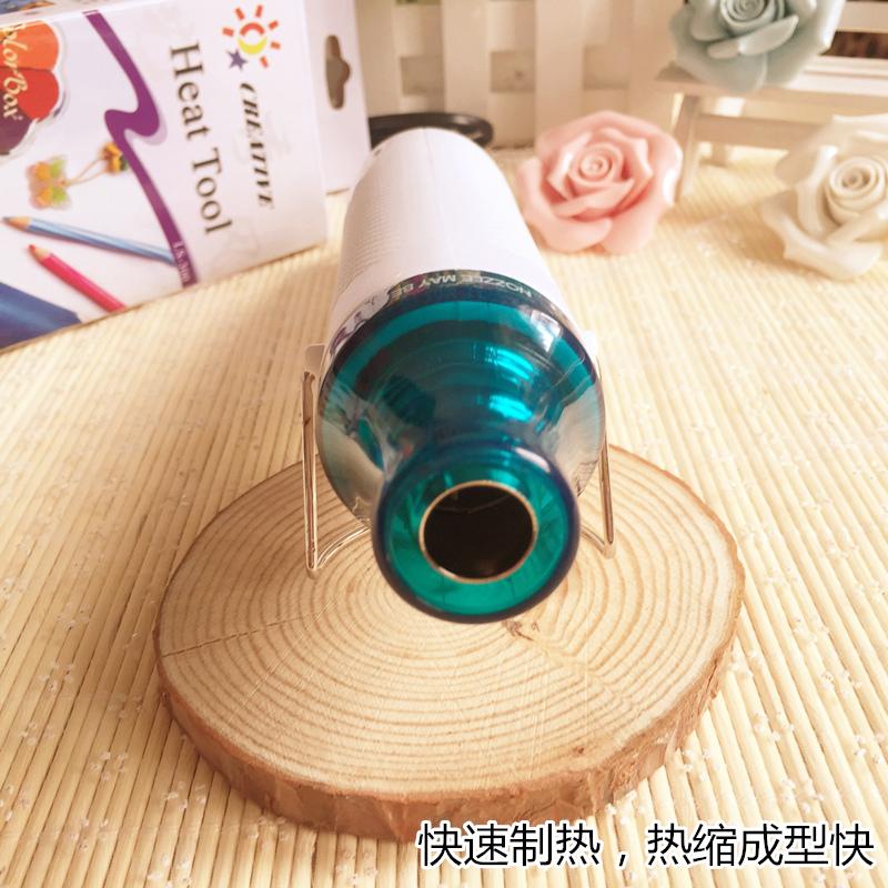 包邮 热风枪橡皮章印章热缩片浮雕粉DIY工具手绘热缩印章手工