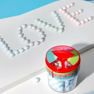 网红无糖薄荷糖玫瑰茉莉味约会亲接吻香体糖持久口气清新亲嘴糖果