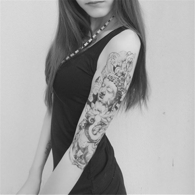 Original Tattoo Stickers Lasting Men And Women Flower Arm Bag Calf