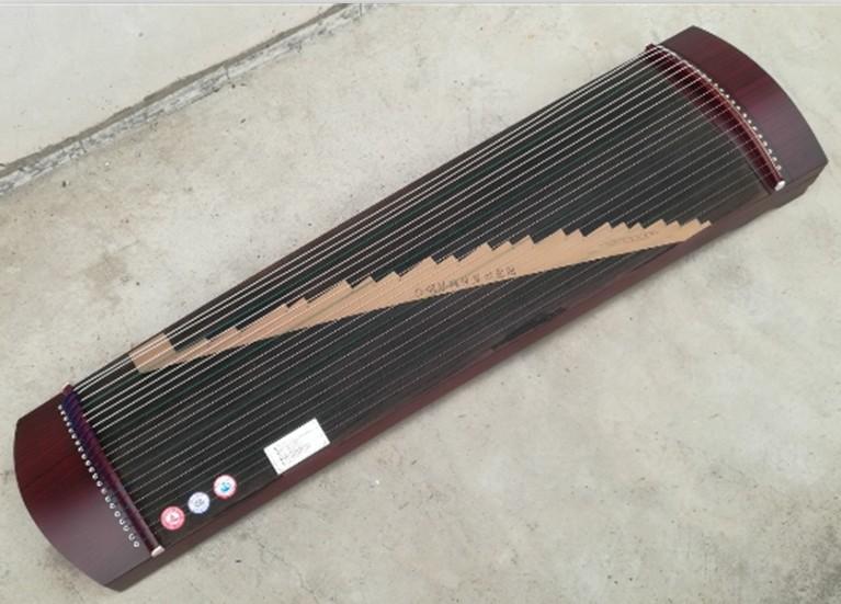 弦紫檀素面刻字迷你专业练习教学初学筝半筝小古筝 21 厘米 130 新款