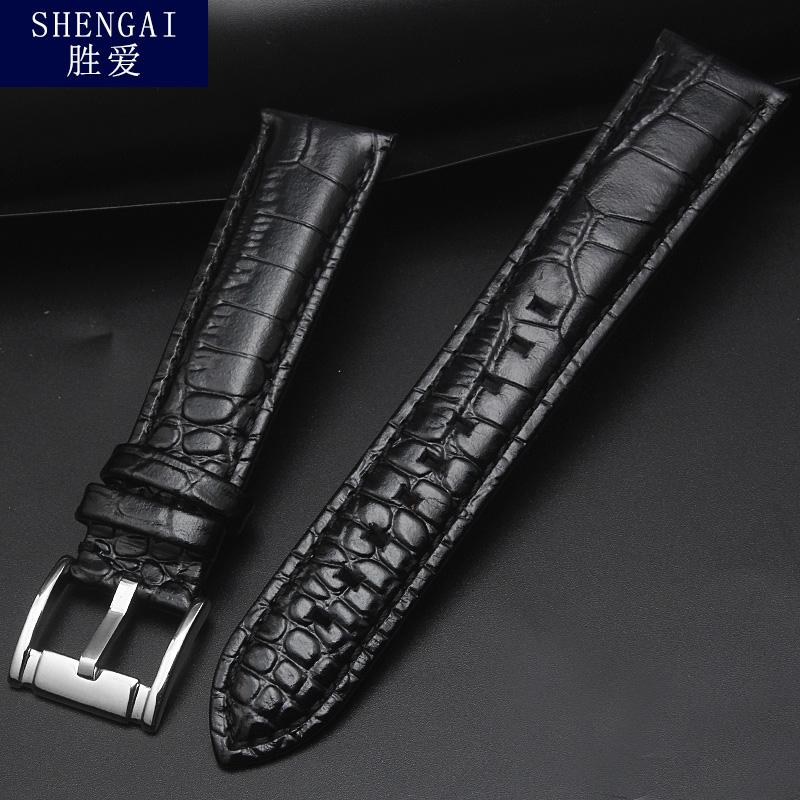 适配阿玛尼手表带AR2432/1452/2464/1612男士20|皮带真皮表链配件