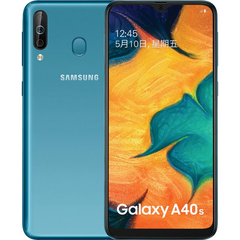智能手机后置三摄学生拍照手机 4G 全网通 A3050 SM A40s Galaxy 三星 Samsung 国行正品 64G 6