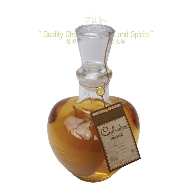 整果 700ml 苹果白兰地 马塞内茨 Brandy vieux Calvados 法国进口