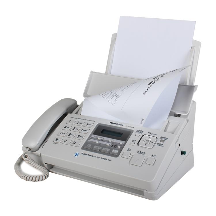 松下KX-FP7006CN传真机普通纸传真机A4纸松下传真机电话一体机