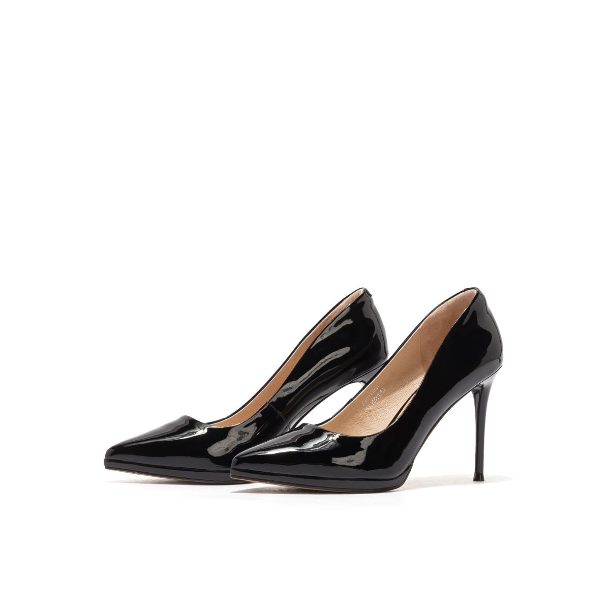 SS01111033 春季新款欧美风细高跟浅口单鞋女鞋 2020 星期六 Sat & St