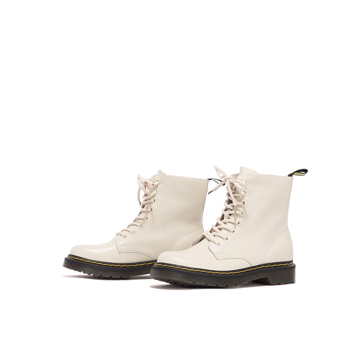 SS04116706 冬季新款休闲系带纯色短靴女靴 2020 星期六英伦风马丁靴
