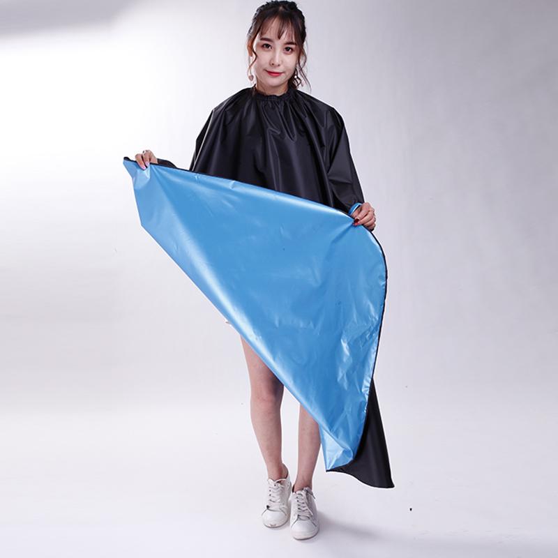 发廊专用围布美发烫染围布防水焗油烫发围布加厚披肩家用染发围布
