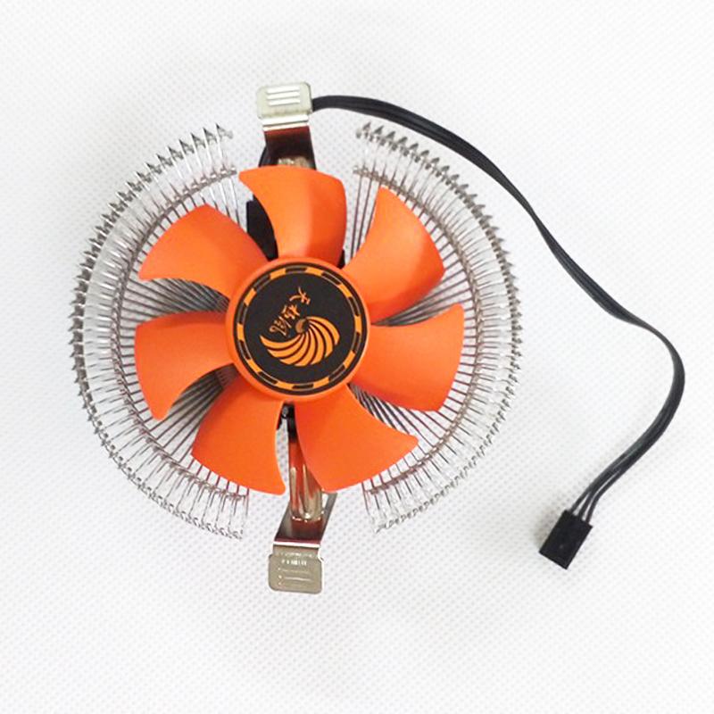 戴安娜 AMD/Intel CPU散熱器 775/1155 多平臺風扇 電腦配件批發