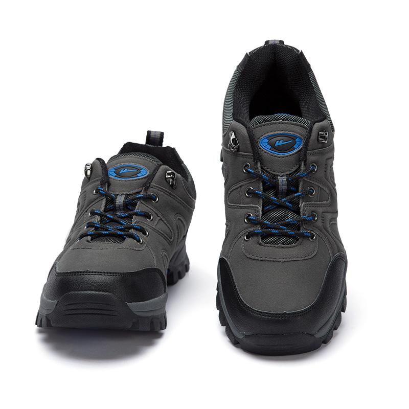 回力登山鞋越野跑鞋男士户外鞋防滑男鞋耐磨登山徒步鞋低帮