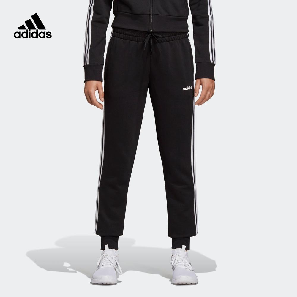 阿迪达斯官网 adidas W E 3S PANT女装运动型格长裤DP2380 DU0687