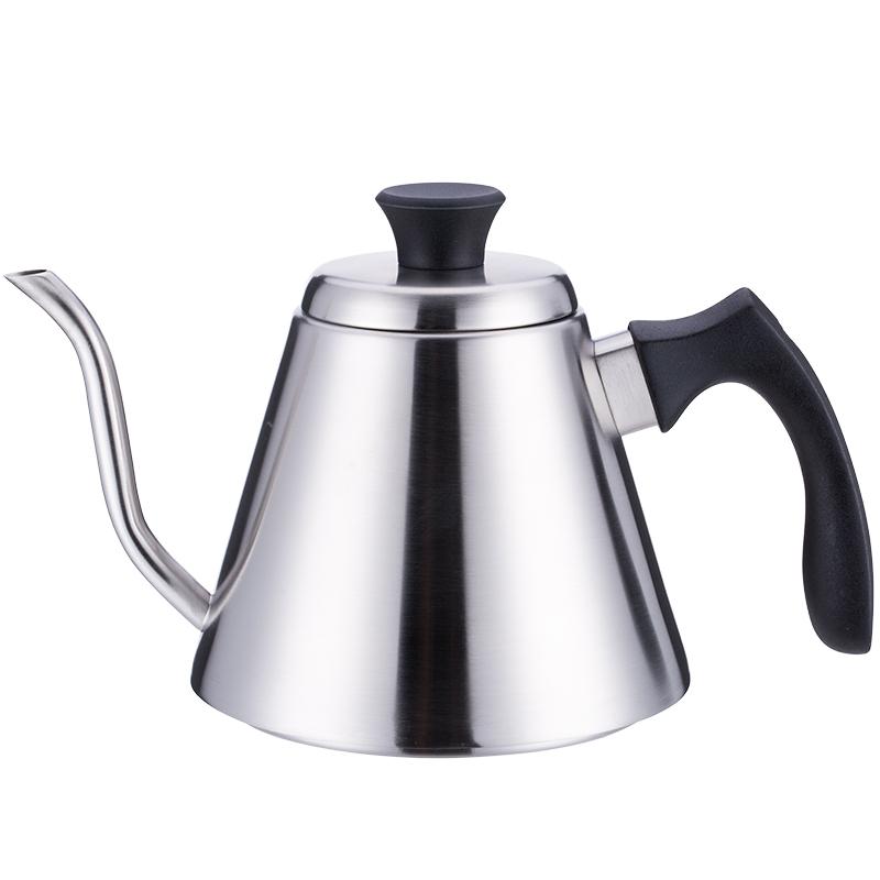 亚米 日式咖啡壶长嘴细口手冲壶 家用手冲304不锈钢滴漏式冲泡壶