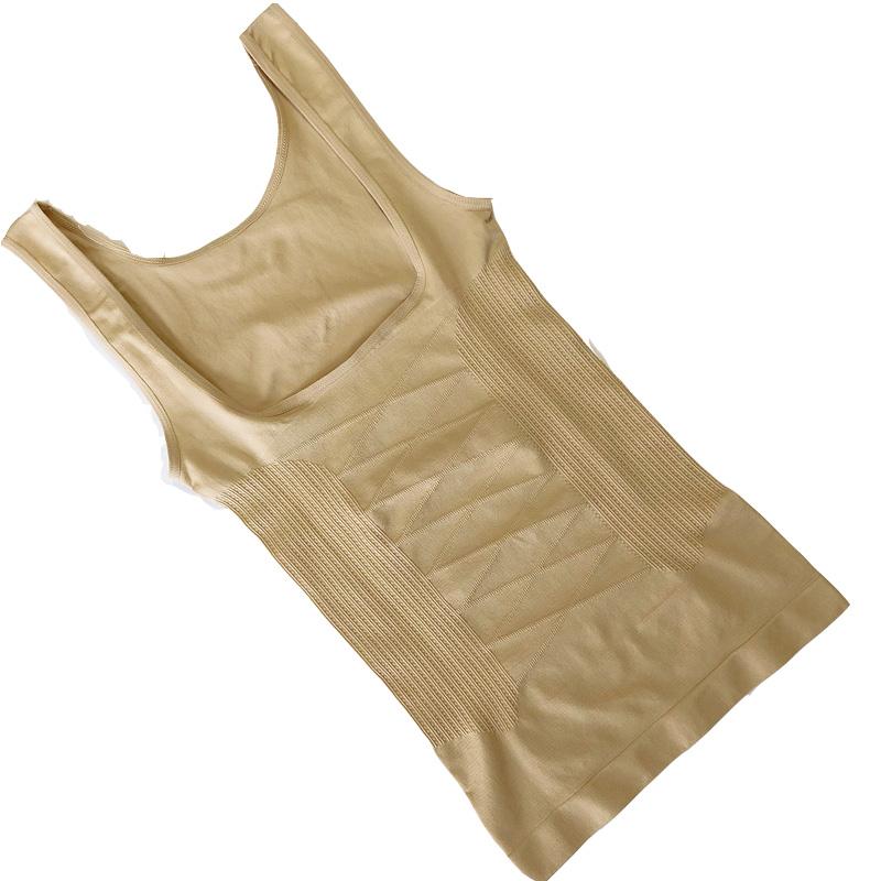 加强产后束身背心上衣塑身分体束缚衣束腰塑形衣瘦身收胃收小腹女