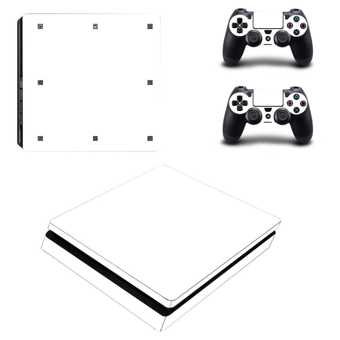 索尼PS4 SLIM贴纸机身贴ps4新版slim痛贴薄机贴膜彩贴送手柄贴32