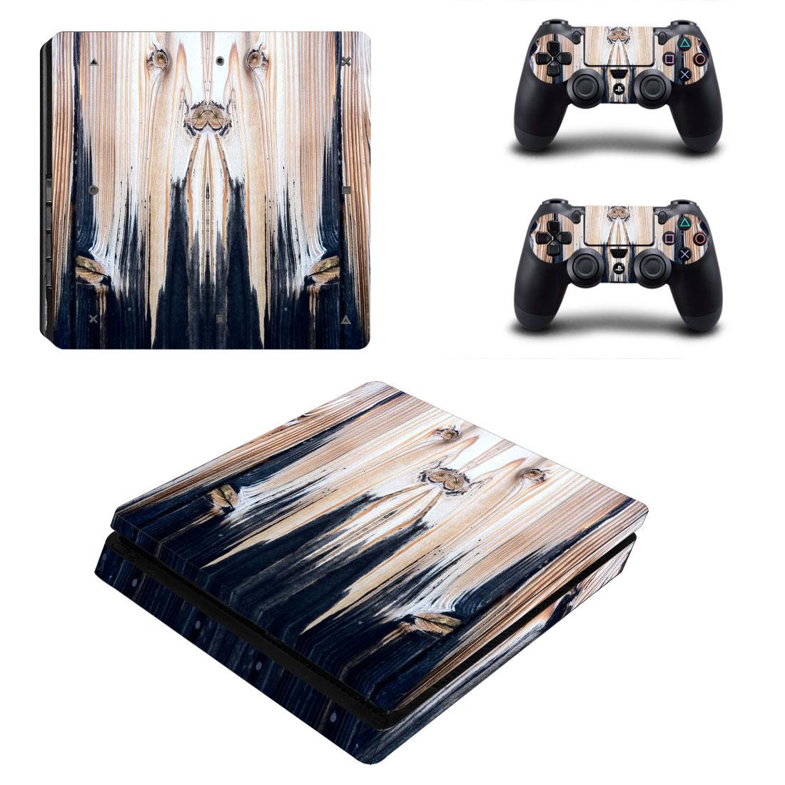 索尼PS4 SLIM贴纸机身贴ps4新版slim痛贴薄机贴膜彩贴送手柄贴59