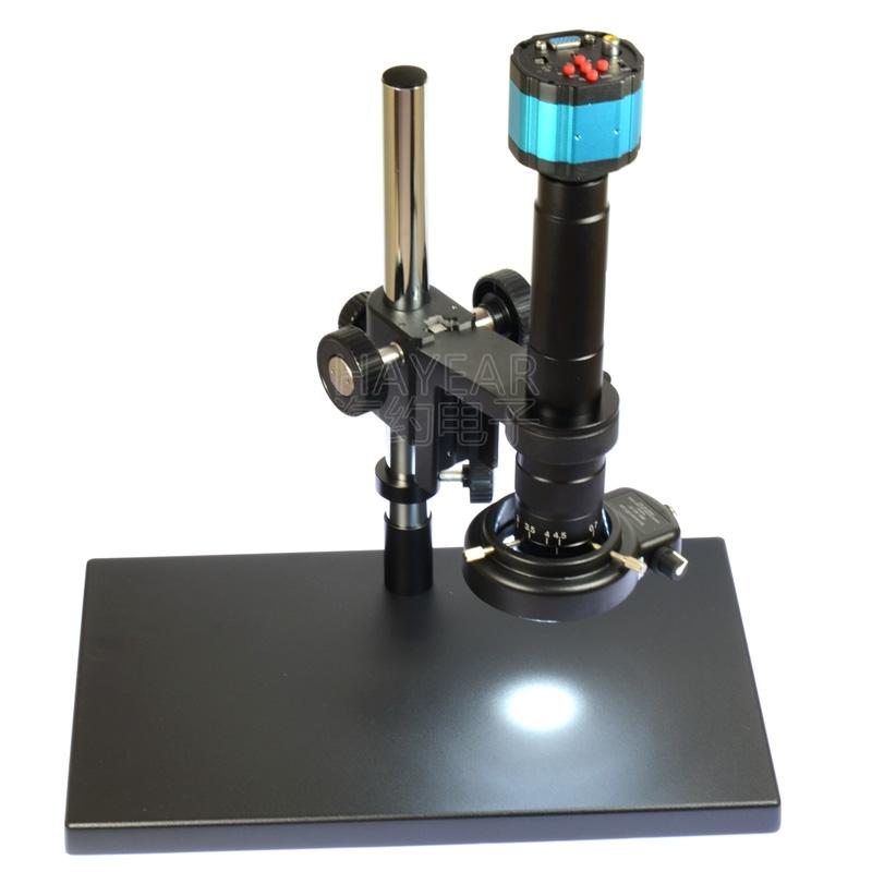 新款XDS-10A数码显微镜大底座显微镜调节支架工业相机单筒支架