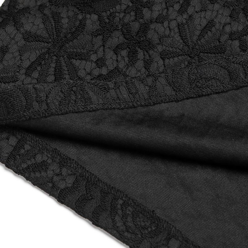 包臀半身裙裙蕾丝中长款秋季女2019新款一步包裙高腰秋冬复古裙子