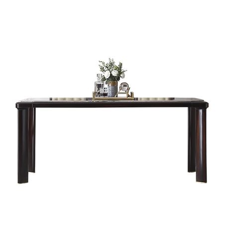 Kaiser Palace New Chinese Solid Wood Marble Dining Table Home Small Apartment Modern Light Luxury Rectangular