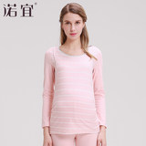 Pregnant women Qiuyiqiuku suit Buru Yi cotton nursing Pajamas breastfeeding postpartum month of autumn and winter clothing