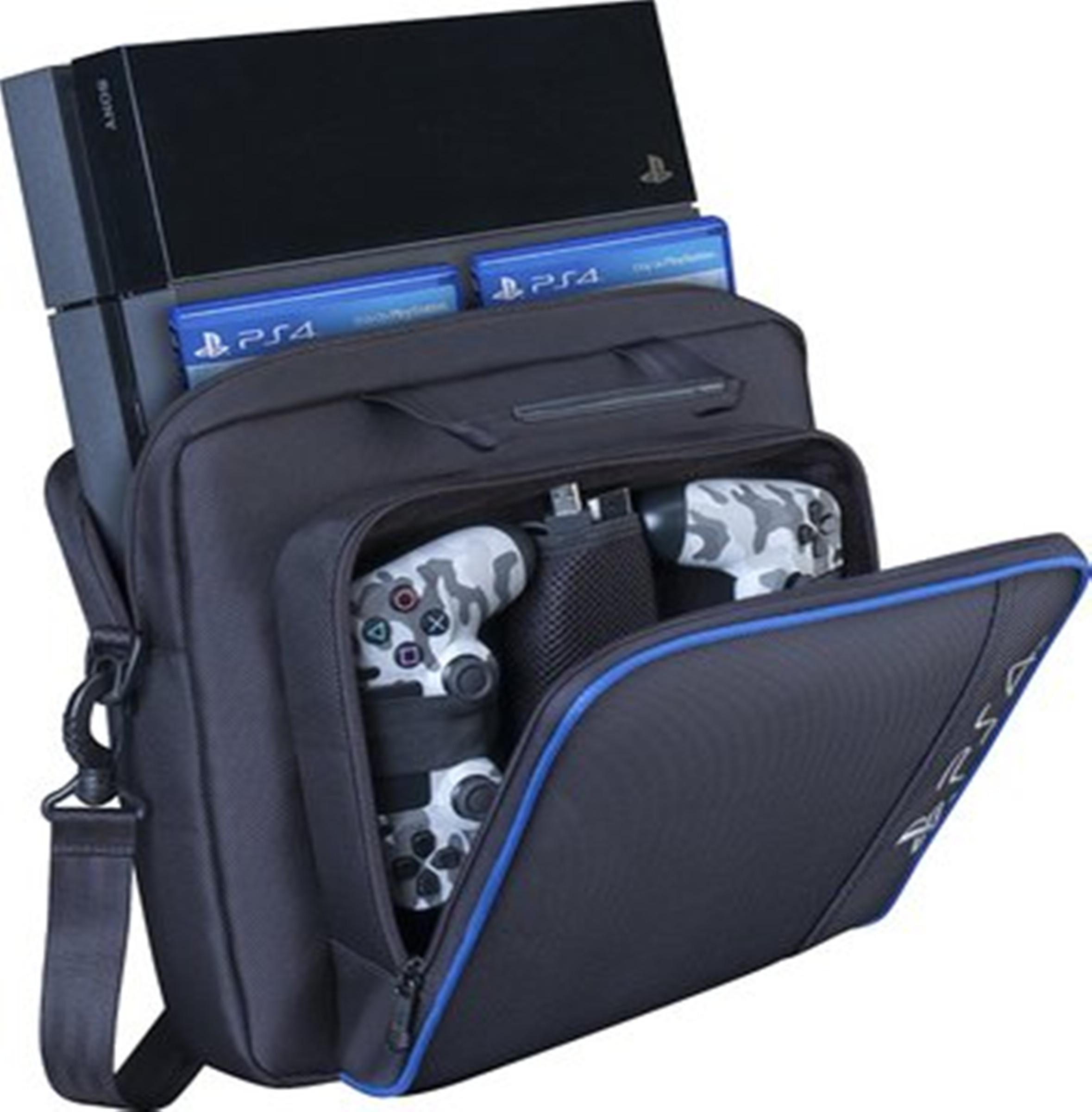 包郵 PS4主機包 收納包 手提包PS4 slim VR PS4PRO單肩包大容量包