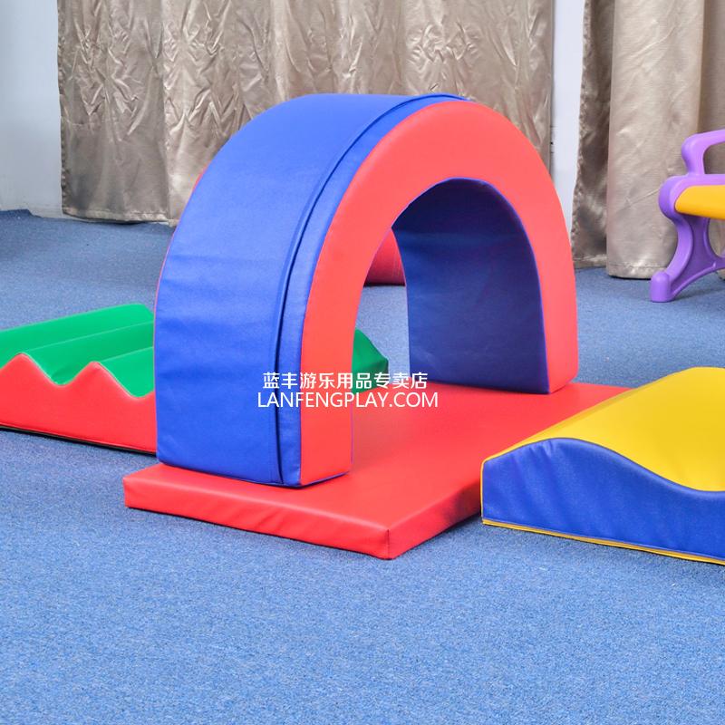 早教软体教具系列 全海绵多功能运动组合V  幼儿园早教玩具