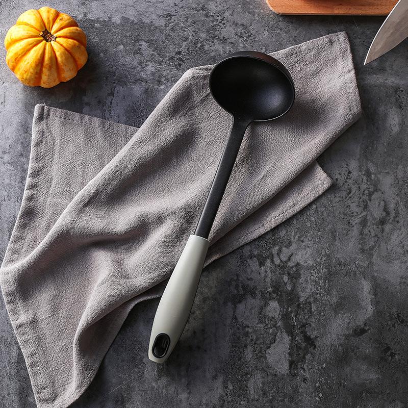奇居良品 厨房工具电磁炉不粘锅长柄耐高温厨房烹饪用具4件组合