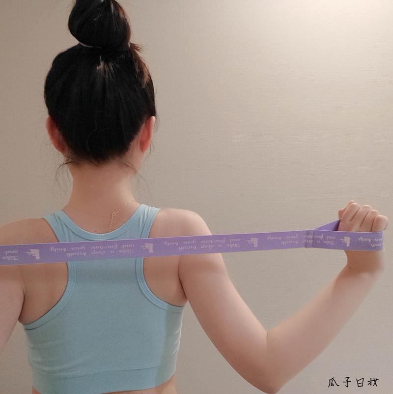日本製  cogit全身用 多功能鍛鍊健身阻力帶拉力繩瑜伽拉力帶