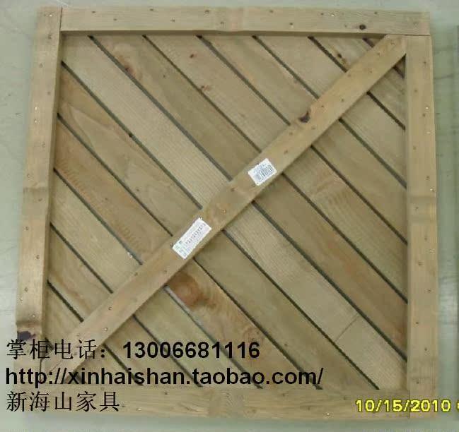 海山防腐木垫板实木地板阳台户外室外庭院花园浴室防滑拼接45CM