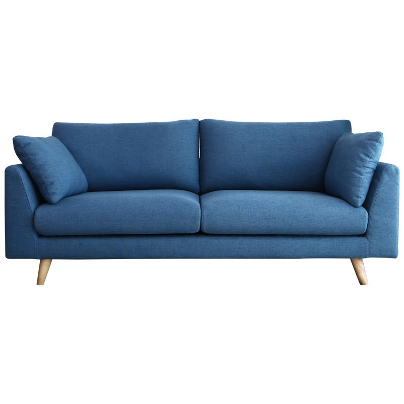 北欧客厅拆洗沙发三人布艺现代日式简约小户型沙发组合单双人沙发