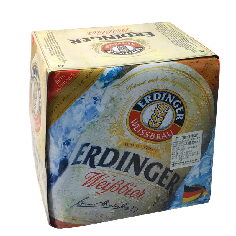瓶 亚博体育2018临期特价精酿高度 德国原装进口艾丁格小麦白啤酒 12 500ml