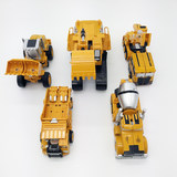 Alloy deformation engineering car toy King Kong 5-in-1 Hercules car robot child boy gift set