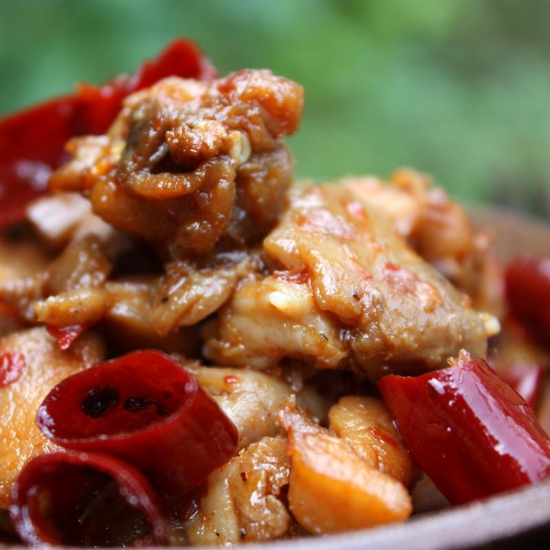 特惠手工鲜制香辣冷吃兔 成都私房美味麻辣烫兔头卤牛肉类熟食
