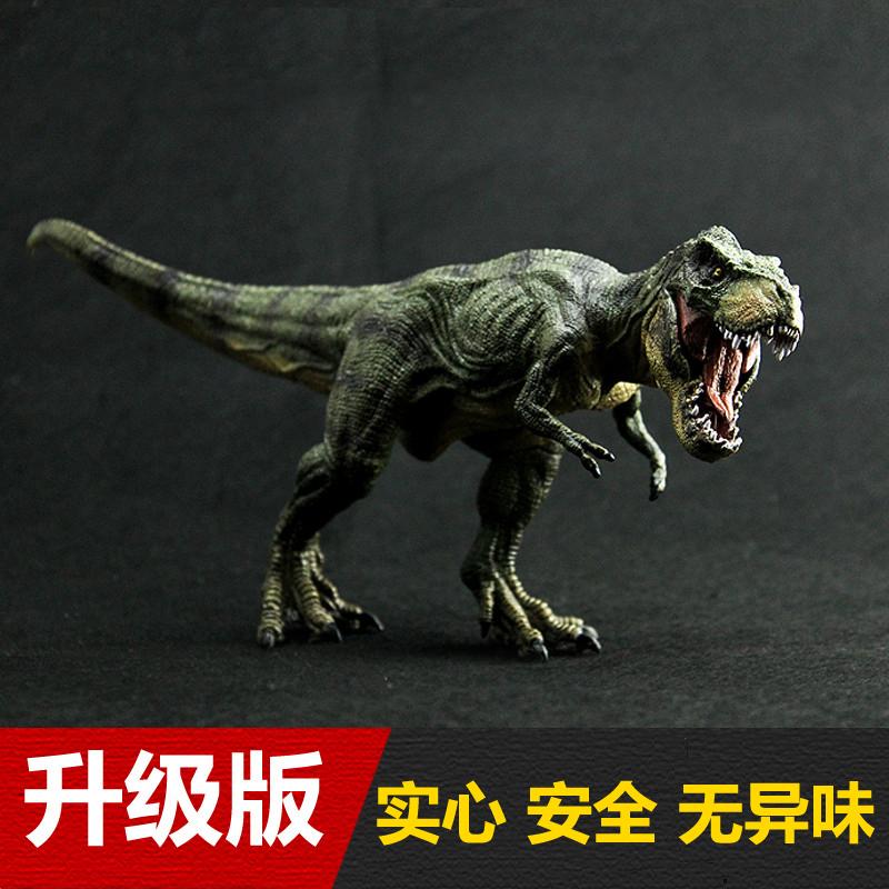 儿童仿真恐龙世界套装动物玩具模型迅猛龙霸王龙暴龙异特龙三角龙