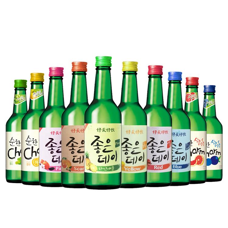 瓶整箱 20 混搭 超水 好天好饮 清酒 韩国烧酒 韩国进口果味烧酒