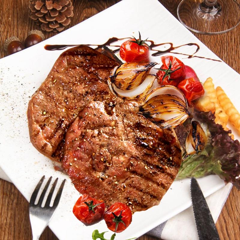 联豪菲力牛排单片肉生牛扒牛肉150g西餐厅品质含黄油酱料