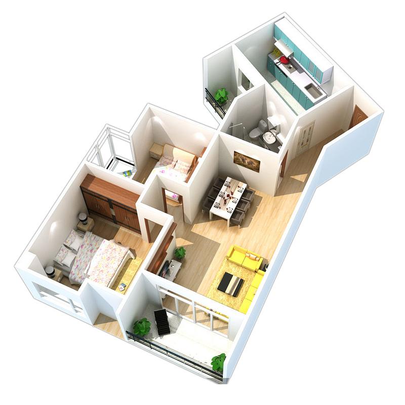 房屋室内装修设计纯家装设计软装服务装修设计师室内设计效果图