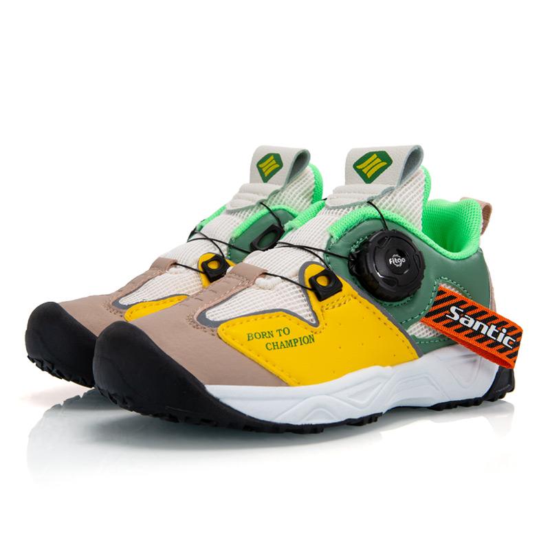 Santic森地客 20年新品专业儿童平衡车旋转扣运动鞋滑步车骑行鞋