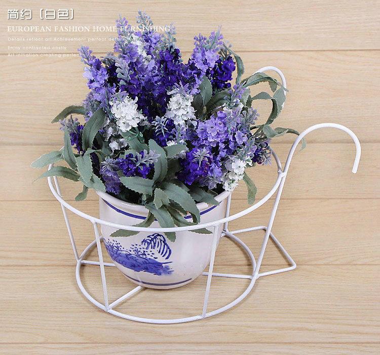 天天特价买2送1铁艺悬挂花架可挂阳台栏杆花架花盆架加固易安装