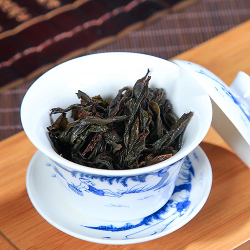 大红袍茶叶 浓香型武夷山岩茶 兰花香大红袍肉桂 大份量500g散装