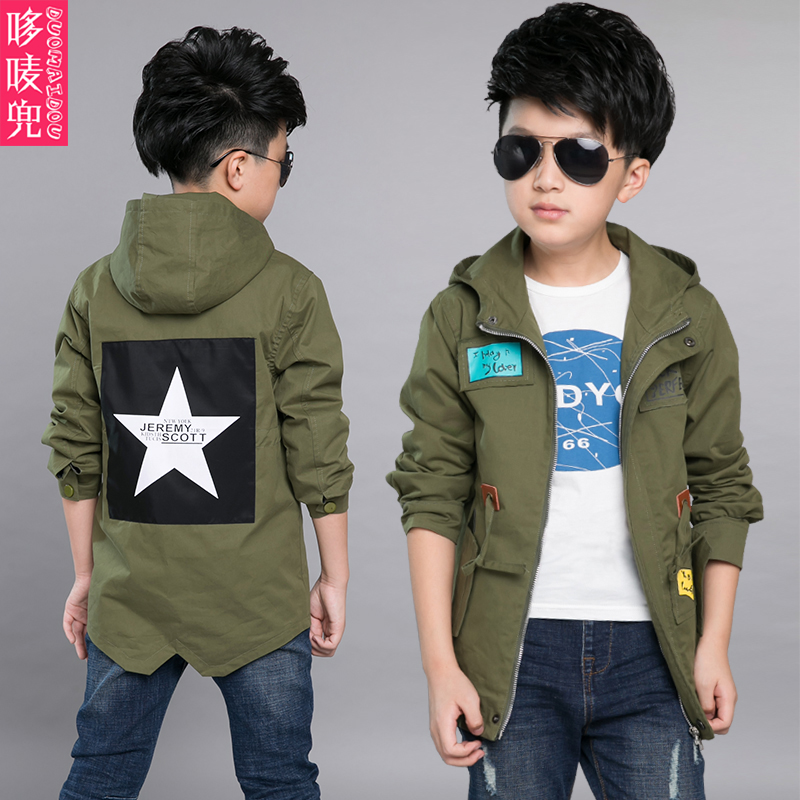 06f246e55 5 boys autumn 2016 new children wear 6 7 kids clothes 4 8 boys windbreaker  9 spring and autumn 10 new coat 12 years old tide