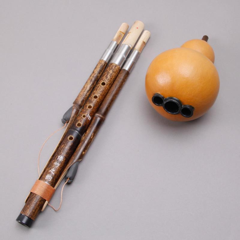 云南紫竹大人乐器 调 b 降 调 c 专业演奏型葫芦丝 傣竹之韵