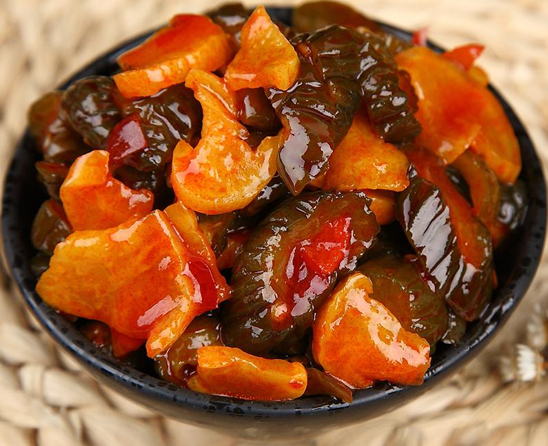 红油腌黄瓜5斤咸菜整箱袋装酱菜下饭小菜即食咸微辣脆酱黄瓜萝卜