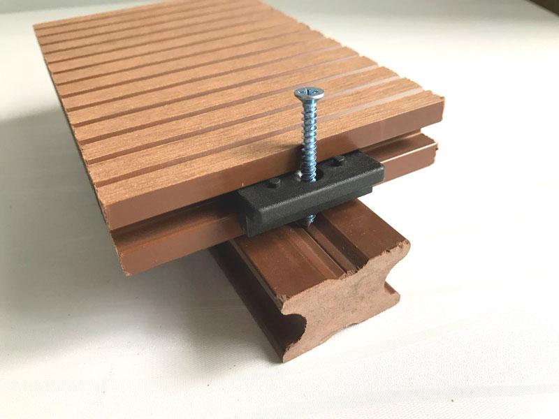 【一泽】实心塑木龙骨40x25mm塑木地板找平地垄户外 新料现货