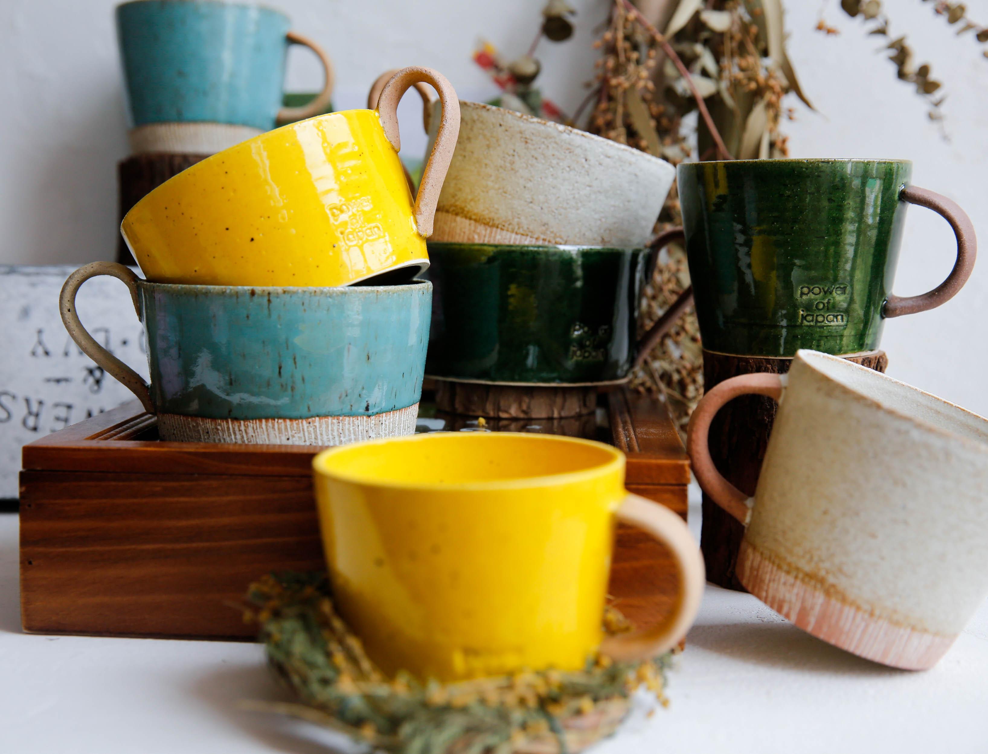 授權日本光陽陶器ZAKKA美濃燒復古手作咖啡杯水杯馬克杯茶杯