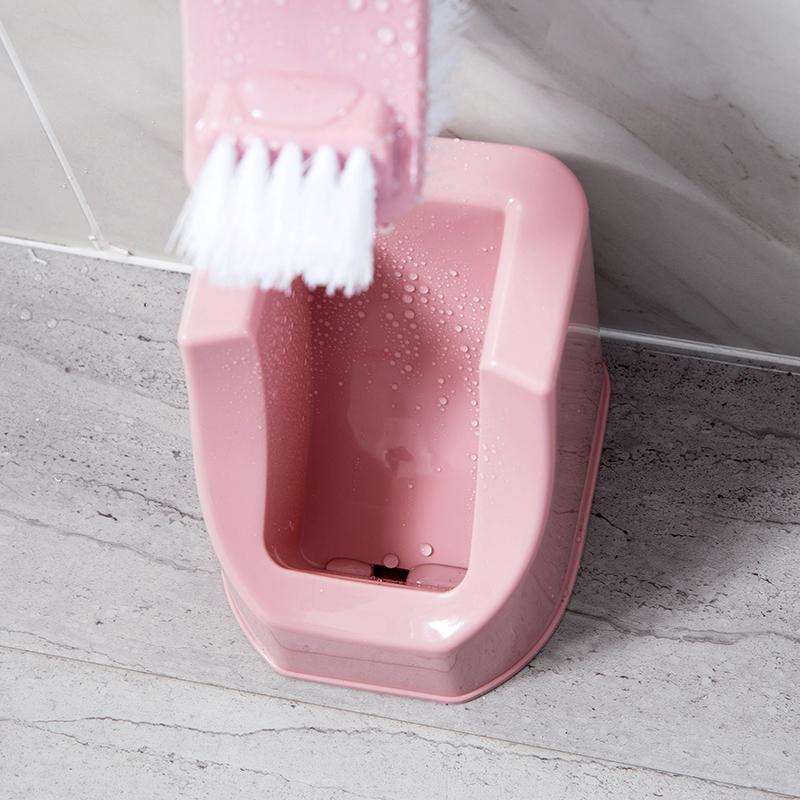 居家家马桶刷套装卫生间清洁刷家用洗厕所蹲坑的刷子无死角坐便刷