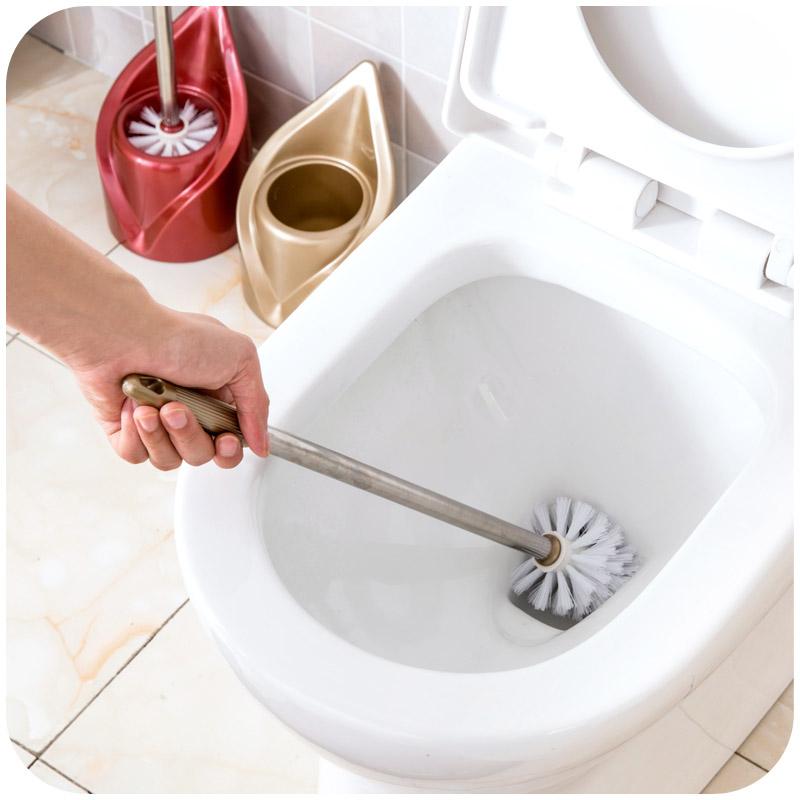 居家家无死角马桶刷洁厕刷清洁刷套装卫生间长柄洗厕所刷子厕所刷