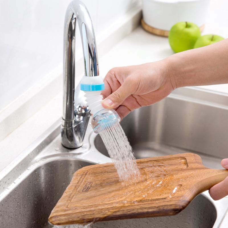 居家家 水龙头防溅花洒自来水过滤嘴 厨房滤水器喷头过滤器节水器