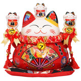 Lucky cat ornaments creative home gift shop cashier opened a fortune cat ceramic piggy bank piggy bank
