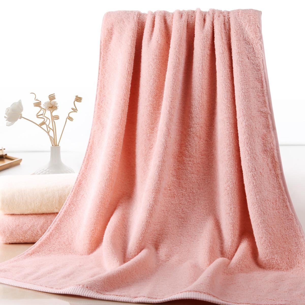 日本内野阿瓦提长绒棉加厚浴巾540g 70*140cm
