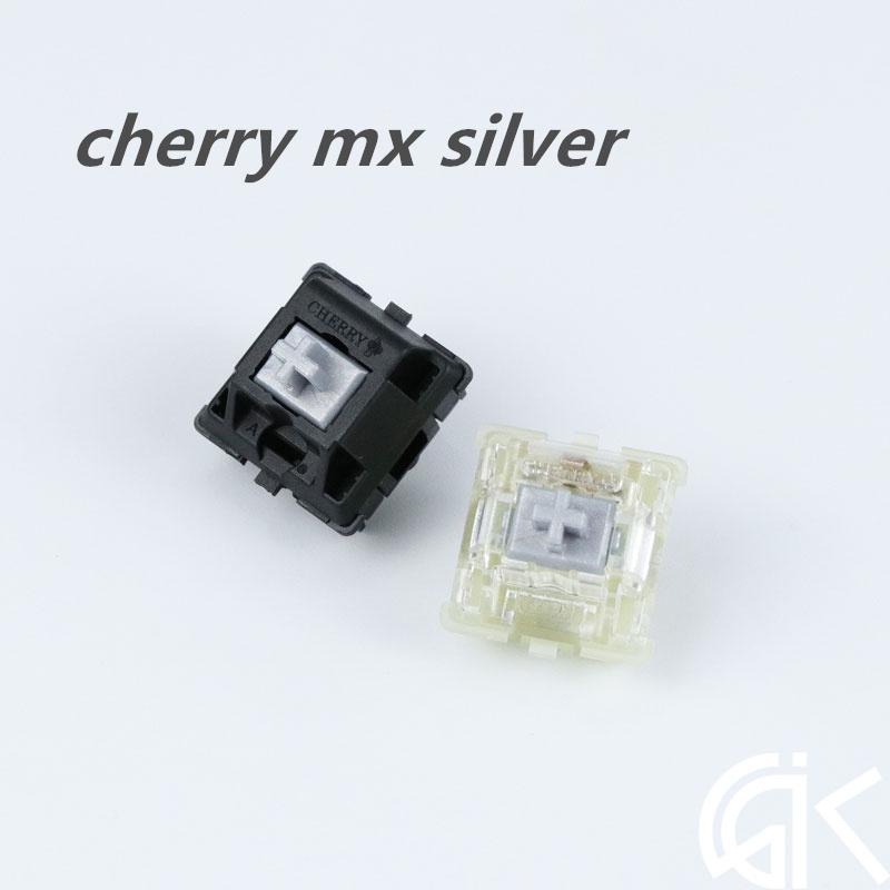 機械鍵盤RGB軸開關cherry 櫻桃MX Speed silver 銀軸 K70 懲戒者